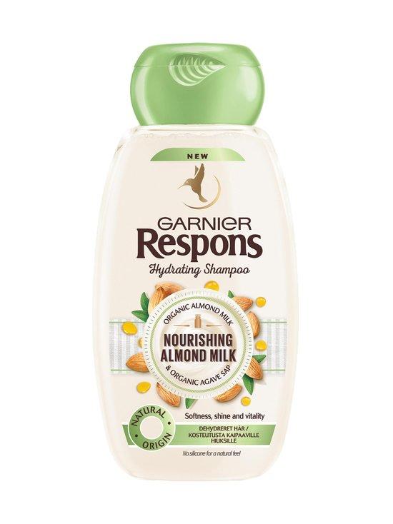 Garnier - Respons Nourishing Almond Milk -shampoo 250 ml - NOCOL   Stockmann - photo 1