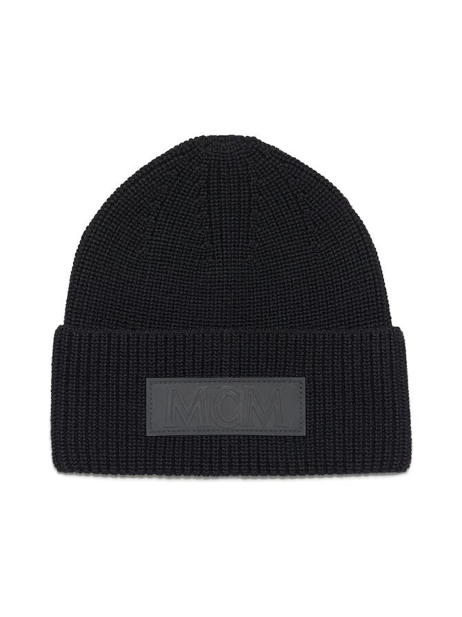 Logo Patch Beanie -villapipo