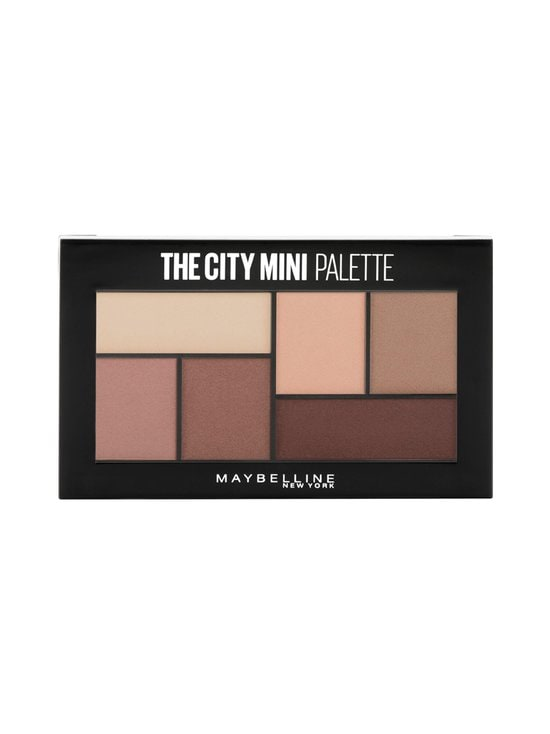Maybelline - The City Mini Palette -luomiväripaletti 6 g - 480 MATTE ABOUT TOW | Stockmann - photo 1