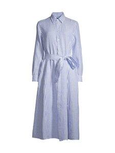 Polo Ralph Lauren - Striped Linen Shirt -pellavamekko - 1055 WHITE/ MEDIUM BLUE | Stockmann