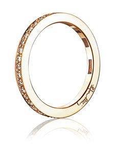 Efva Attling - 21 Stars & Signature Thin Ring -sormus - GOLD   Stockmann