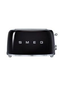 Smeg - TSF02BLEU-leivänpaahdin, 4 viipaleelle - MUSTA | Stockmann