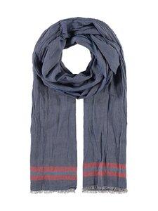 Fraas - Puuvillahuivi - 560 560 BLUE | Stockmann