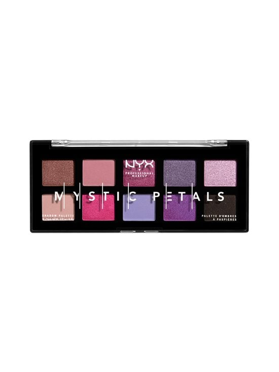 NYX Professional Makeup - Mystic Petals Shadow Palette -luomiväripaletti 8 g - 01 MIDNIGHT ORCHID   Stockmann - photo 1