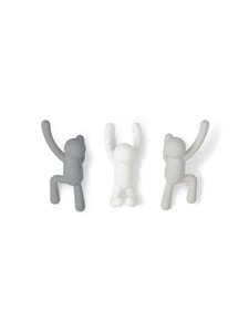 Umbra - Buddy-koukku, 3 kpl - ASSORTED | Stockmann