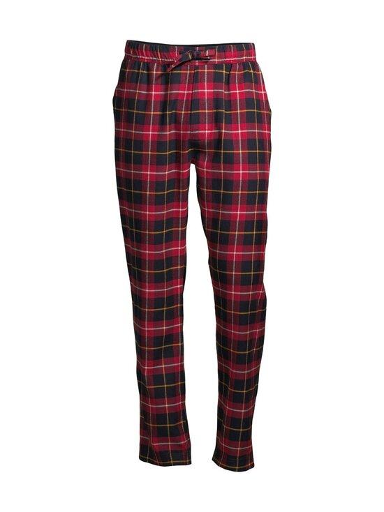 Superdry - Laundry Flannel -pyjamahousut - 4AC HIGHLANDER CHECK RED | Stockmann - photo 1