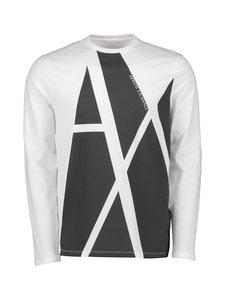 ARMANI EXCHANGE - T-paita - 2181 WHITE/BLACK | Stockmann