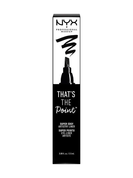 NYX Professional Makeup - That´s the Point Super Edgy -silmänrajaustussi - MUSTA | Stockmann - photo 2