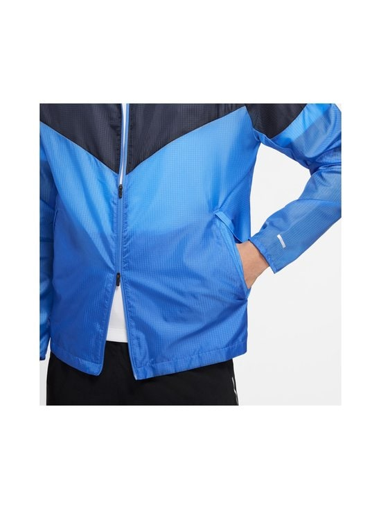 Nike - Windrunner-takki - PACIFIC BLUE/OBSIDIAN/REFLECTIVE SILV | Stockmann - photo 8