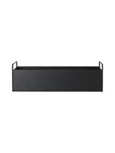 Ferm Living - Plant Box Small -kukkalaatikko - BLACK (MUSTA) | Stockmann