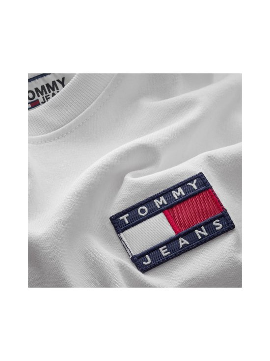 Tommy Jeans - Tommy Badge Organic Cotton T-Shirt -paita - YBR WHITE | Stockmann - photo 3