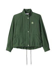 Kenzo - Zipped Blouson Jacket -takki - 51 DARK KHAKI | Stockmann