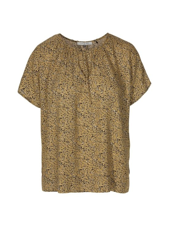 cut & pret - Jelica-pusero - YELLOW DITSY FLORAL PRINT | Stockmann - photo 1