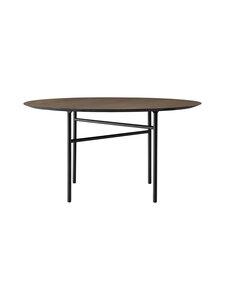 Menu - Snaregade Round -pöytä - DARK STAIND OAK, BLACK | Stockmann