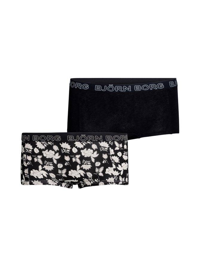 Minishorts Mia -alushousut 2-pack