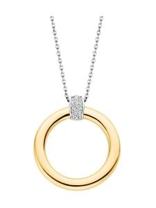 Ti Sento - Kaulakoru - ZIRCONIA WHITE YELLOW GOLD PLATED | Stockmann