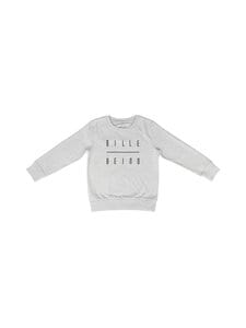 BILLEBEINO - Kids Sweatshirt -collegepaita - GREY MELANGE | Stockmann