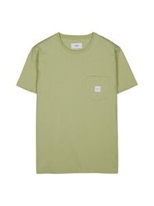 Makia - Square Pocket T-Shirt -paita - 715 LIGHT GREEN | Stockmann