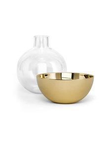Skultuna - Pomme Small -maljakko 9,5 cm - BRASS | Stockmann