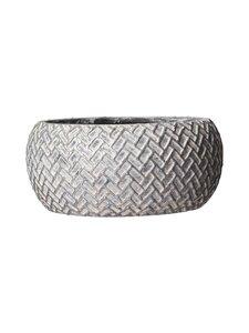 Wikholm Form - Allis Bowl -ruukku 25 x 11 cm - SILVER | Stockmann