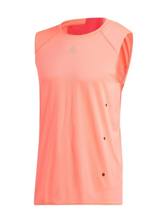 adidas Performance - Heat.Rdy Sleeveless Tee -treenipaita - SIGNAL PINK | Stockmann - photo 1