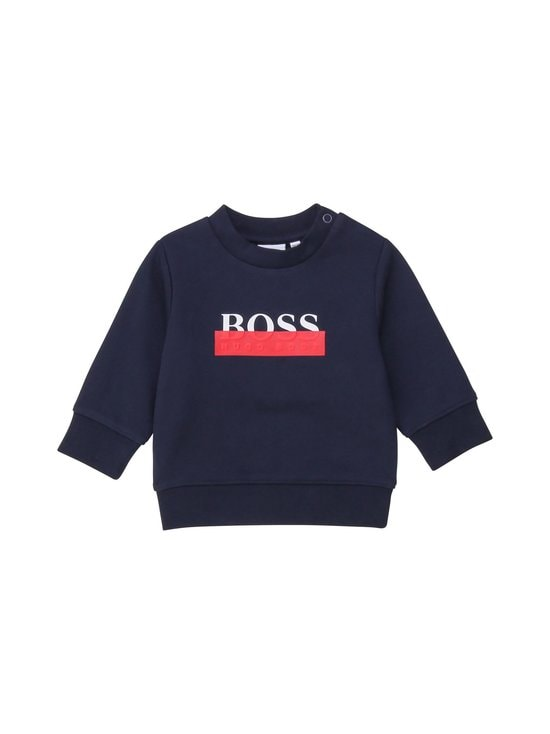 Hugo Boss Kidswear - Collegepaita - 849 NAVY | Stockmann - photo 1