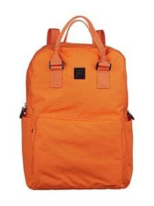 Fila - Coated Canvas Convertible Mid Backpack -reppu - Y24 FLAME ORANGE   Stockmann