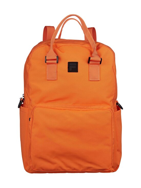 Fila - Coated Canvas Convertible Mid Backpack -reppu - Y24 FLAME ORANGE   Stockmann - photo 1
