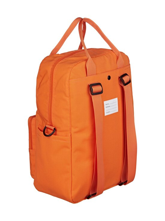 Fila - Coated Canvas Convertible Mid Backpack -reppu - Y24 FLAME ORANGE   Stockmann - photo 2