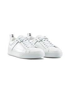 HUGO - Mayfair-nahkasneakerit - 100 WHITE | Stockmann