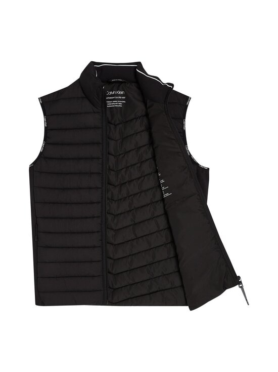 Calvin Klein Menswear - Crinkle Nylon Vest -kevyttoppaliivi - BEH CK BLACK | Stockmann - photo 3