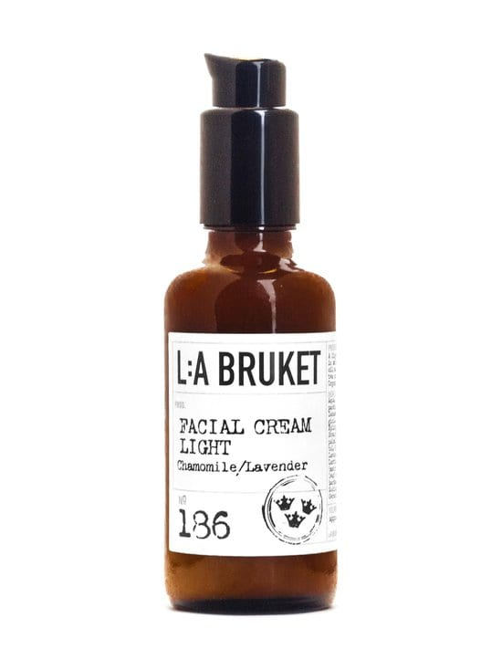 L:A Bruket - No 186 Facial Cream Light Chamomile/Lavender -kasvovoide 50 ml - NOCOL | Stockmann - photo 1