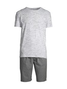 CONSTRUE - Naples-pyjama - WHITE/GREY CHECK | Stockmann