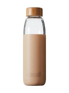 Casall - Fresh Glass Bottle -juomapullo 0,5 l - 807 FOCUS BEIGE   Stockmann