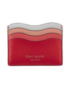 kate spade new york - Puffy Wave Cardholder -korttikotelo - 997 CORAL ROSE MULTI   Stockmann