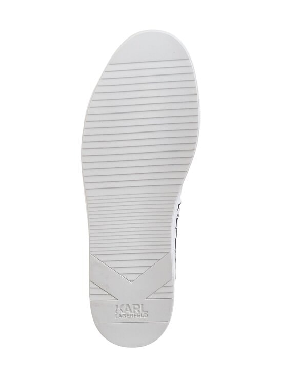 Karl Lagerfeld - Kupsole Trace Logo -nahkasneakerit - WHITE 011 | Stockmann - photo 3