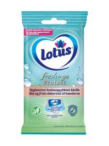 Lotus - FRESH TO GO PROTECT FRESHEN-UP TOWEL 10 PCS -kosteuspyyhkeet käsille | Stockmann