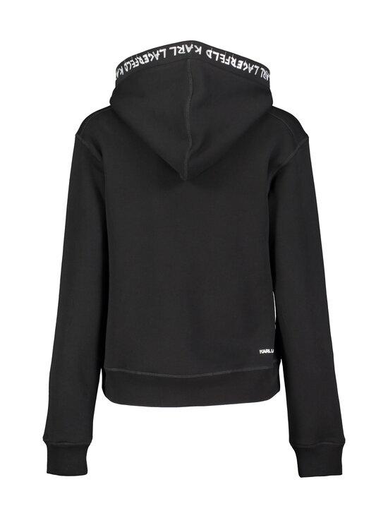 Karl Lagerfeld - Graffiti Logo Hoodie -huppari - 999 BLACK | Stockmann - photo 2