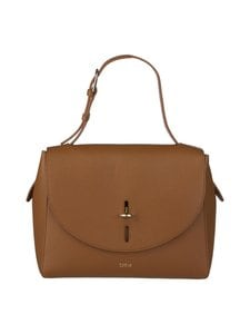 Furla - Net M Top Handle -nahkalaukku - 03B-COGNAC H | Stockmann