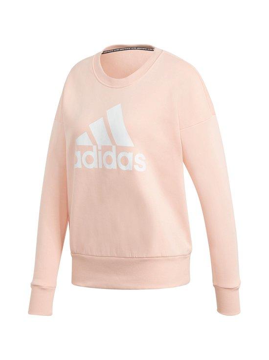 adidas Performance - Badge of Sport Crew Sweatshirt -collegepaita - HAZE CORAL   Stockmann - photo 1