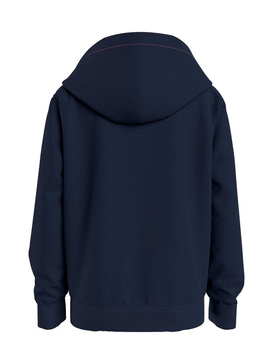 Tommy Hilfiger - Essential Hooded Zip Through -huppari - C87 TWILIGHT NAVY   Stockmann - photo 2