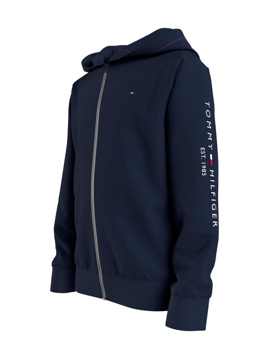 Tommy Hilfiger - Essential Hooded Zip Through -huppari - C87 TWILIGHT NAVY   Stockmann - photo 3