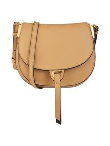 Coccinelle - Arpege Mini Saddle Bag -nahkalaukku - 774 WARM BEIGE/NOIR | Stockmann