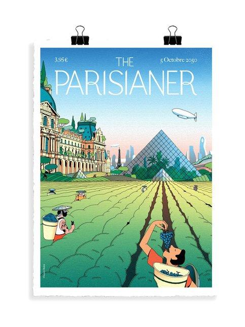 The Parisianer Utopie 11 Mahe -juliste 56 x 76 cm