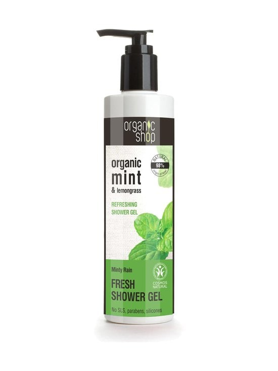 Organic Shop - Minty Rain Fresh -suihkugeeli 280 ml - null | Stockmann - photo 1