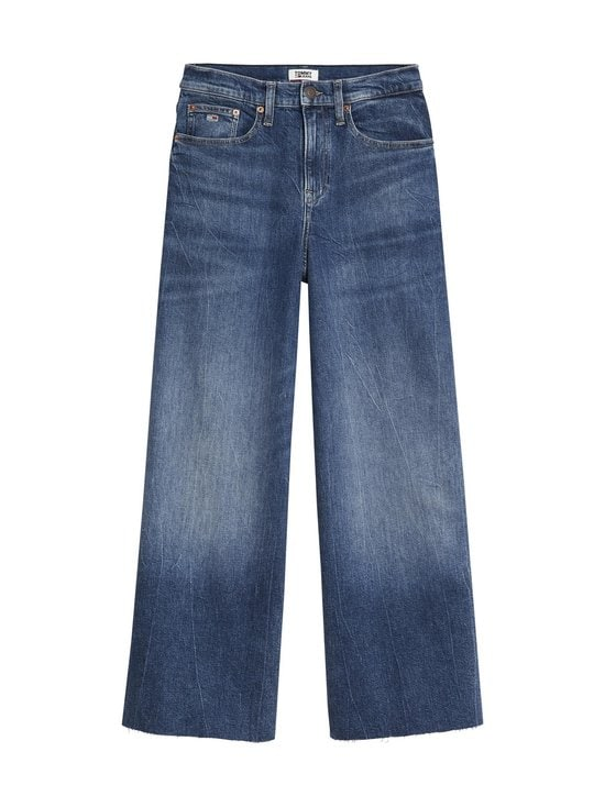 Tommy Jeans - Mer MR Wide Leg Ankle -housut - 1A5 CONY DARK BLUE COMFORT | Stockmann - photo 1