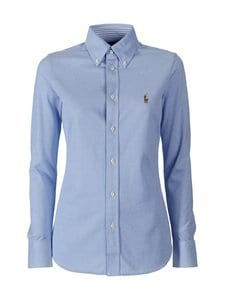 Polo Ralph Lauren - Heidi Skinny Long Sleeve -paitapusero - HARBOUR ISLAND BLUE | Stockmann