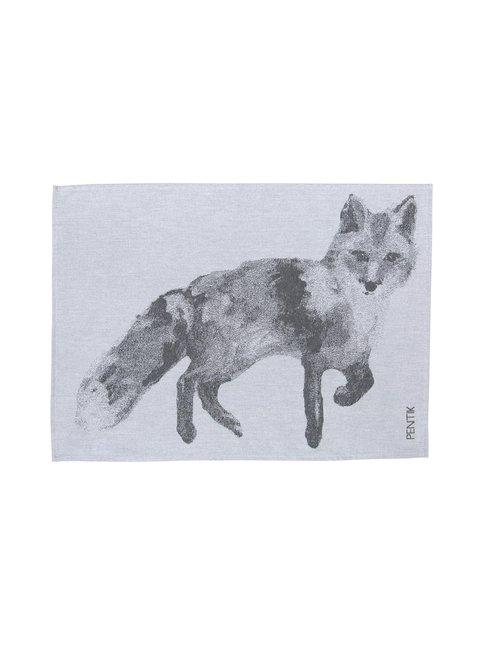 Fauna Kettu -keittiöpyyhe 50 x 70 cm