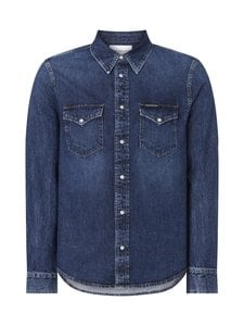 Calvin Klein Jeans - Modern Western Shirt -farkkupaita - 1A4 AB092 MID BLUE | Stockmann