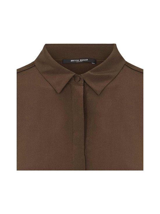 BRUUNS BAZAAR - Lillie Corinne Silk Shirt -silkkipusero - COFFEE BROWN | Stockmann - photo 3